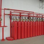 Sistema automático de detecção e supressão de incêndio