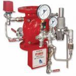 Sistema de combate a incêndio dilúvio