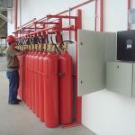 Sistema de prevenção e combate à incêndio