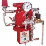 Sistema de dilúvio contra incêndio